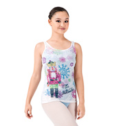 Adult Nutcracker Burnout Tank Top