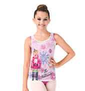 Girls Nutcracker Burnout Tank Top