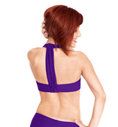 Adult T-Back Halter Bra Top