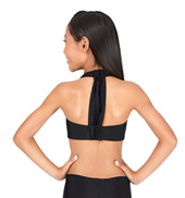Child T-Back Halter Bra Top