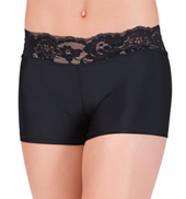 Child Lace Waistband Dance Shorts