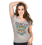 Adult Aztec Dancer Short Sleeve Top