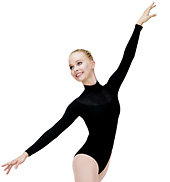Adult Mock Turtleneck Leotard