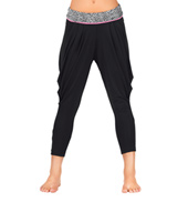 Girls Cheetah Waist Harem Pant