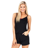 Adult Camisole Shorty Dance Romper