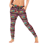 Adult Rainbow Bohemian Harem Pants