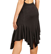 Adult Asymmetrical Ruffle Skirt