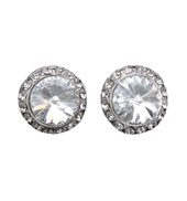 8mm Celestial Button Clip-On Earrings