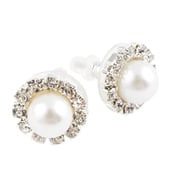 10mm Pearl Cluster Earrings