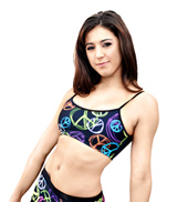 Adult Peace Bra Top