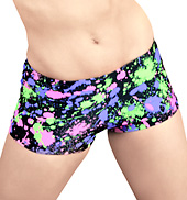 Adult Neon Splatter Short