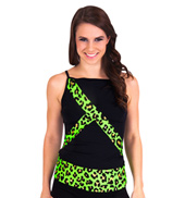 Child Animal Print Camisole Top