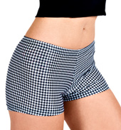 Adult Houndstooth Short