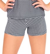 Child Houndstooth Short