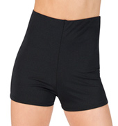 Adult High Waist Dance Short