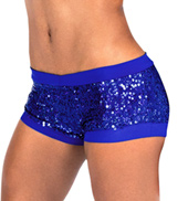 Adult Royal Sequin Short
