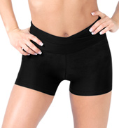 Adult High V-Waist Dance Short