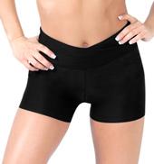 Adult High V-Waist Dance Shorts
