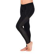Girls Mesh Insert Leggings
