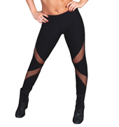 Adult Fishnet Insert Leggings