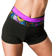 Adult High Waist Overlapping Shorts