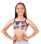Girls Printed Camisole Bra Top