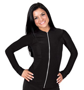 Adult Mesh Insert Zip-Up Jacket