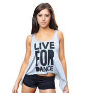 Adult Live For Dance Tank Top