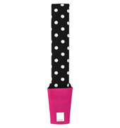 Black Polka Dot Foot Stretcher