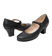Adult Buckle Strap Folklorico Shoe