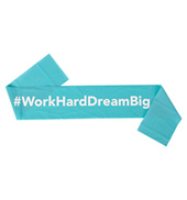 #WorkHardDreamBig Resistance Band
