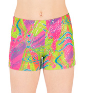 Child Future Star High Voltage Gymnastic Short