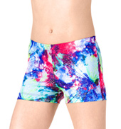 Girls Magic Spells Gymnastics Shorts