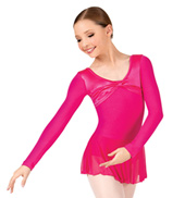 Girls Twist & Shout Long Sleeve Dance Dress