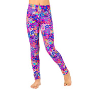 Girls Hearts Printed Legging