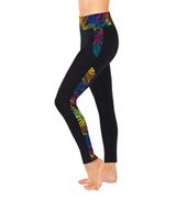 Adult Palm Tree Insert Legging