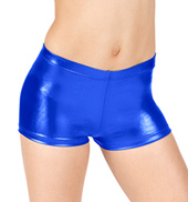 Girls Metallic Shorts