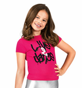 Girls Live 2 Dance Cap Sleeve Tee