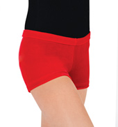 Adult Gymnastic Velvet Dance Short