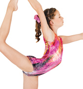 Child Gymnastic Sublimated Leotard