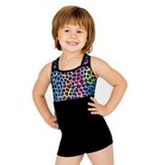 Child Gymnastic Biketard