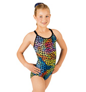 Child Animal Camisole Leotard