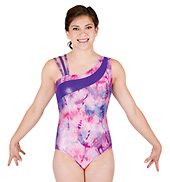 Adult Gymnastic One Shoulder Leotard