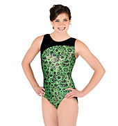 Adult Gymnastic Boat Neck Leotard