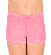 Child Stardust Velvet Gymnastic Dance Short