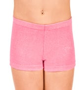 Child Stardust Velvet Gymnastic Short