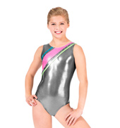 Child Mystique Strappy Back Gymnastic Tank Leotard