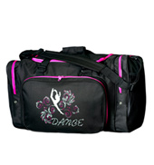 Rhinestone Dance Duffle Bag