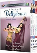 Discover Bellydance 3 Volume Gift Boxed Set 3-Pack DVD