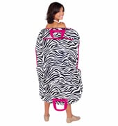Zebra Print Garment Bag